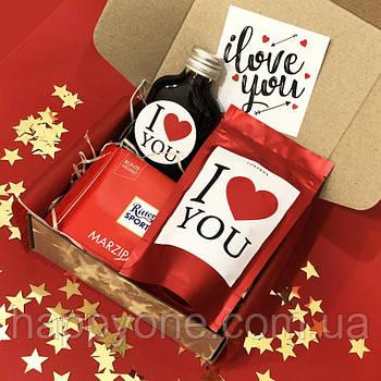 """Подарочный набор LoveBox """"Сладкая романтика"""""""