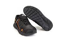 Мужские кроссовки весенние, осенние Adidas (Адидас) Black-Orange черно-оранжевые 40-45 (41)
