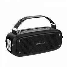 Портативная Bluetooth колонка Hopestar A21 ФМ, MP3, USB Чёрный
