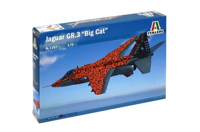 Збірна модель літака Jaguar GR.3,1:72 Italeri