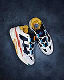 🔥 Кроссовки мужские Adidas Niteball адидас найтбол белые повседневные спортивные легкие, фото 6