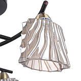 Люстра для кухні стельова BR-593S/3 E14 BZ+W, фото 2