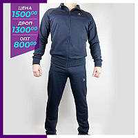 Мужской спортивный костюм CNX темно-синий.Чоловічий спортивний костюм CNX синiй.