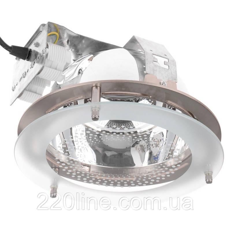 Светильник потолочный встроенный DL-02 SN/2x26W