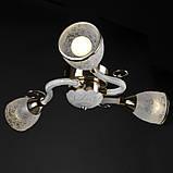 Люстра потолочная классическая с подсветкой LK-511S/3 E14+LED, фото 3