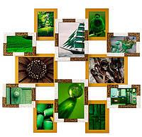 Деревянная мультирамка Рио 12 фото Клеопатра