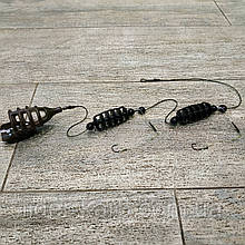 "Рыболовная кормушка , фидерная снасть Убийца карася ""СУПЕР-КАРАСЬ Picker"" , вес 35 грамм"