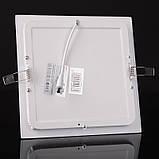 Світильник стельовий вбудований світлодіодний LED-37/18W WW led, фото 4