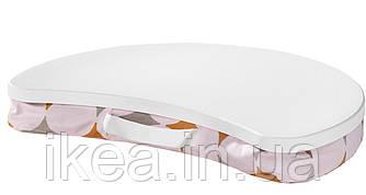 Подставка для ноутбука IKEA BYLLAN белая ИКЕА БЮЛЛАН ІТТЕРЕД коврик подушка для ноутбука