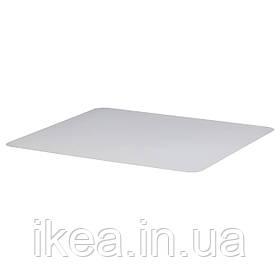 Защитное напольное покрытие IKEA KOLON 120x100см прозрачное защитное покрытие под кресло КОЛОН ИКЕА