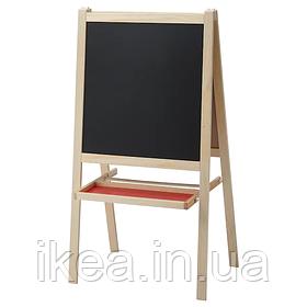 Мольберт с доской IKEA MÅLA для рисования мелом красками или маркером ИКЕА МОЛА