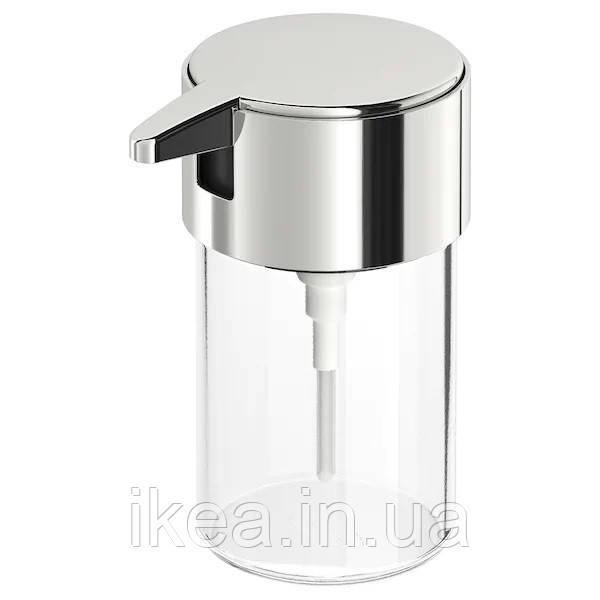 Дозатор для жидкого мыла IKEA KALKGRUND 250мл прозрачный ИКЕА КАЛЬКГРУНД