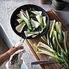 Сковорода Ø28см IKEA ОУМБЕРЛІГ ИКЕА из нержавеющей стали с антипригарным покрытием Teflon® Platinum plus, фото 7