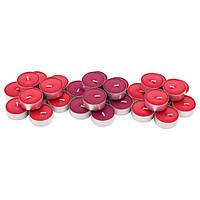 Свечи таблетки IKEA SINNLIG 30 шт х 4 часа горения чайные ароматические декоративные ягодные ИКЕА СІНЛІГ