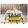 Столик - піднос на ніжках білий IKEA КЛИПСК ІКЕА, фото 7
