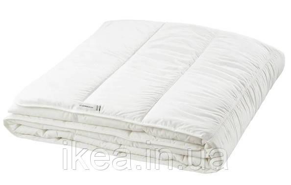 Ковдра тепле біле 200x200 см IKEA СТЕРНБРЕКА ІКЕА