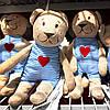 Плюшевый мишка 21 см KEA FABLER BJÖRN детская мягкая игрушка ФАБЛЕР БЙОРН ИКЕА, фото 8