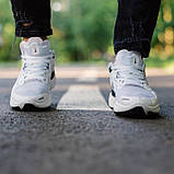 🔥 Кросівки чоловічі Nike Run Flyknit найк ран флайкнит білі повсякденні спортивні легкі, фото 2