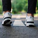 🔥 Кросівки чоловічі Nike Run Flyknit найк ран флайкнит білі повсякденні спортивні легкі, фото 3