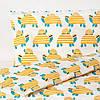 Пододеяльник + 1 наволочка в кроватку малышей IKEA RÖRANDE 100% хлопок 110x125/35x55 см ИКЕА РЕРАНДЕ, фото 2