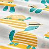 Пододеяльник + 1 наволочка в кроватку малышей IKEA RÖRANDE 100% хлопок 110x125/35x55 см ИКЕА РЕРАНДЕ, фото 3