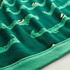Плед акриловий в'язаний м'який теплий кремово-білий 130x170 см IKEA ІНГАБРІТТА ІКЕА, фото 3