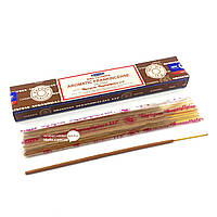 Благовоние Aromatic Frankincense Satya 15 грамм. Аромапалочки Ароматный Ладан (33787)
