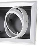Світильник карданний ML-08-04F white G53, фото 5