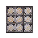 Светильник накладной HDL-DT 205/8*5W NW BK, фото 2