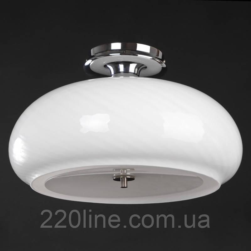 Светильник настенно-потолочный BR-01 240C/3 E27 WH