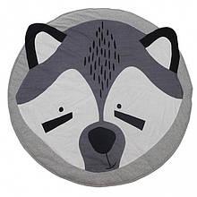 Одеяло коврик в детскую комнату Енотик Серый is124084, КОД: 1533202