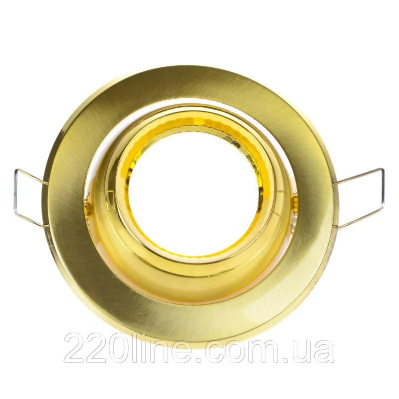 Светильник точечный HDL-DE 02 SB/G