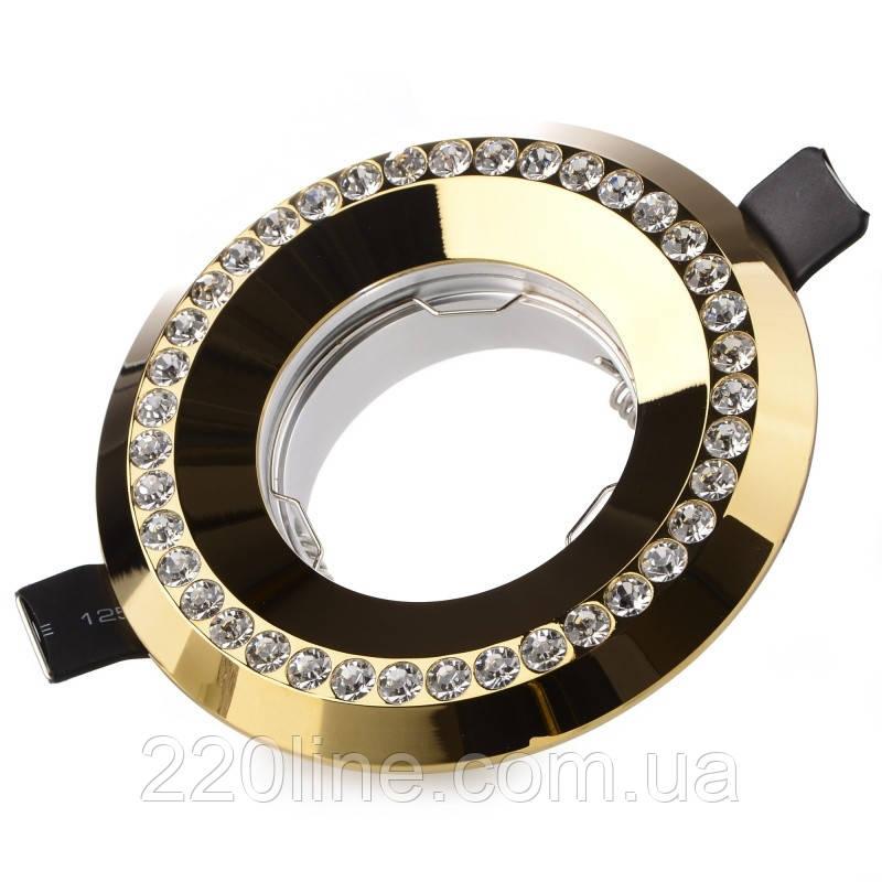 Светильник точечный HDL-DS 139 MR16 G/AL