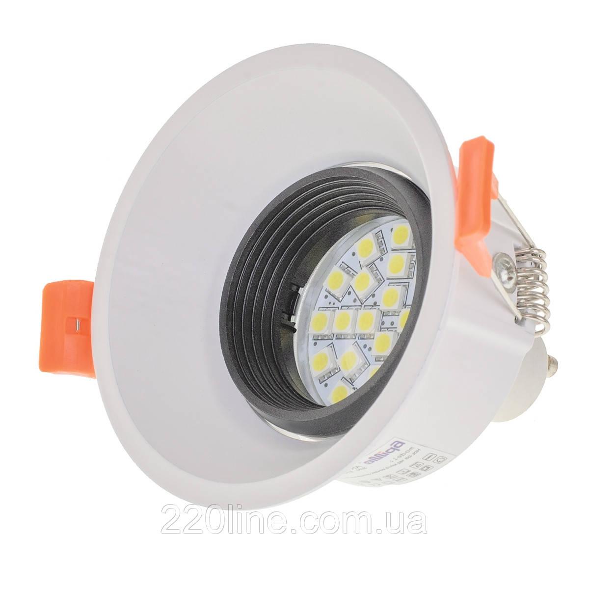 Светильник точечный HDL-DS 162 MR16 WH/BK