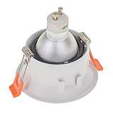 Светильник точечный HDL-DS 162 MR16 WH/BK, фото 2