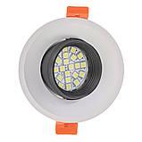 Светильник точечный HDL-DS 162 MR16 WH/BK, фото 3