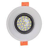 Светильник точечный HDL-DS 162 MR16 WH/BK, фото 4