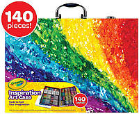 Чемодан для творчества Crayola Set 140шт Набор для творчества Арт кейс Crayola 140 предметов