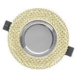 Светильник точечный LED декоративный HDL-G266/3W + WH, фото 5