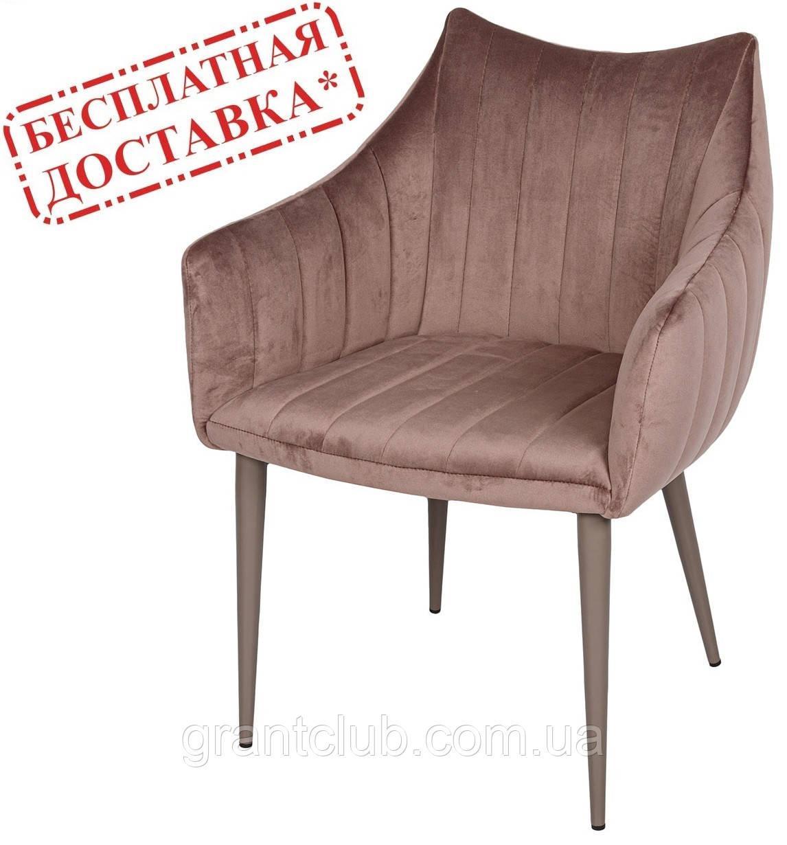 Кресло BONN мокко велюр (бесплатная доставка)