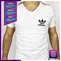 Футболка мужская Adidas белая.Футболка чоловіча Adidas біла.