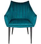 Кресло BONN морская волна велюр (бесплатная доставка), фото 3