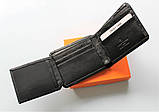 Чоловічий гаманець Louis Vuitton чорний, фото 4