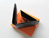 Чоловічий гаманець Louis Vuitton чорний, фото 5