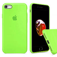 Чохол Silicone Full Cover для iPhone 6 / iPhone 6s Shiny Green