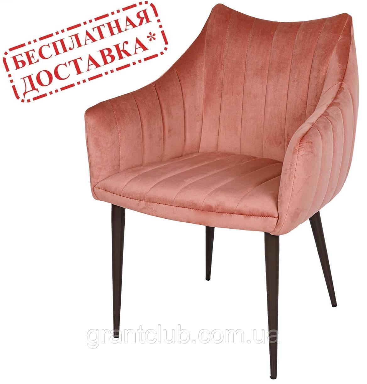 Кресло BONN терракот велюр (бесплатная доставка)