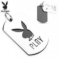 Стальной кулон Playboy PBSP 006