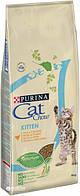 Cat Chow (Кет Чау) Сухой корм для беременных и кормящих кошек Kitten, курица 15кг