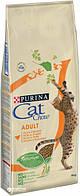 Cat Chow (Кет Чау) Сухий корм для кішок Adult, курка, індичка 15кг