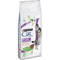 Cat Chow (Кет Чау) Сухий корм для кішок Special Care Hairball Control 15кг (для виведення шерсті)